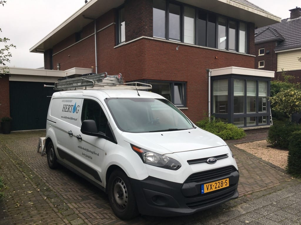 Airless spuiten van latex in Zoetermeer